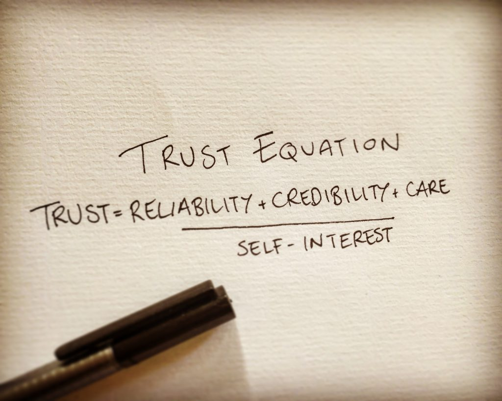 trust equation
